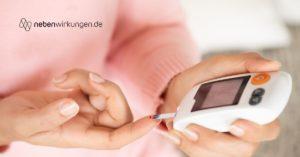 Diabetes Medikamente Nebenwirkungen